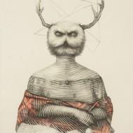 2.''Soacra''- Desen pe hartie - 63-83 cm - 2015