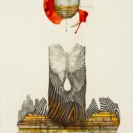 3.''Eden''- Tehnica mixta-59-90 cm - 2015