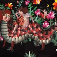 Aitch, Temptation, acrilic pe panza, 40x60cm