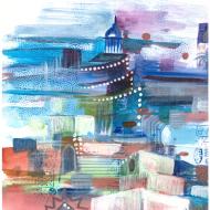 Inspiration V (28x20,5cms)Acrylics on Paper