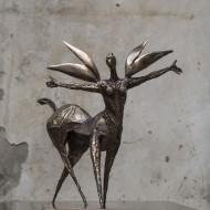 Patru aripi bronz 45x48x36 cm (2)